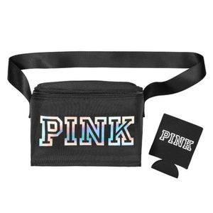 Pink Victoria Secret Black Cooler